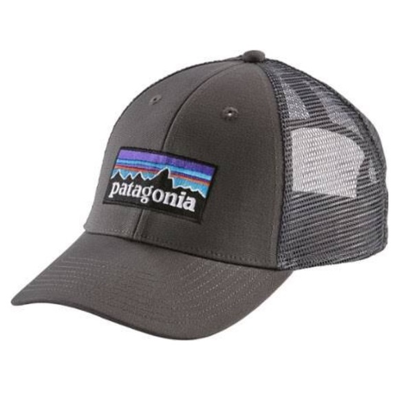 2162b917922 New Patagonia P6 LoPro Trucker Hat Forge Grey. M 5a4aa7f75521be7c7005a49a